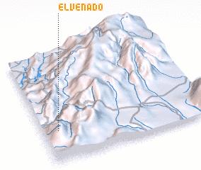 3d view of El Venado
