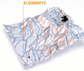 3d view of El Diamante