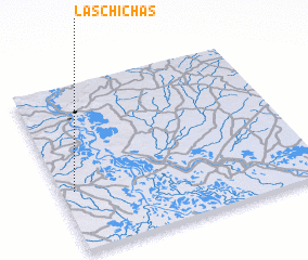 3d view of Las Chichas