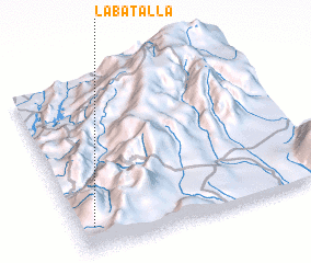 3d view of La Batalla
