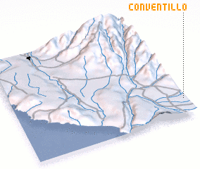 3d view of Conventillo