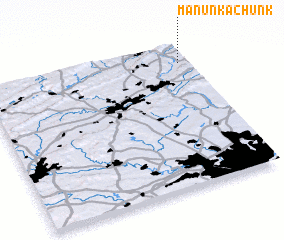 3d view of Manunka Chunk