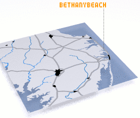 3d view of Bethany Beach