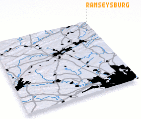 3d view of Ramseysburg