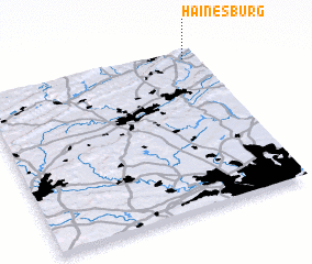 3d view of Hainesburg