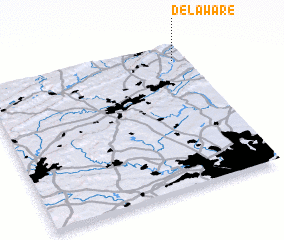 3d view of Delaware