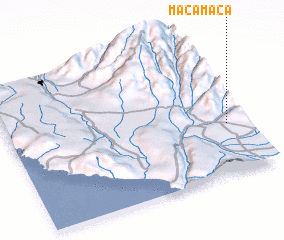 3d view of Macamaca