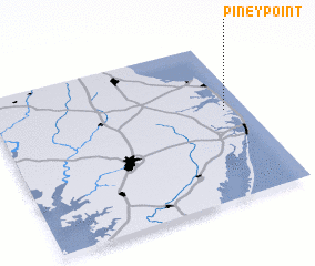 3d view of Piney Point