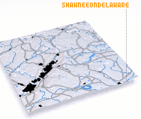 3d view of Shawnee on Delaware