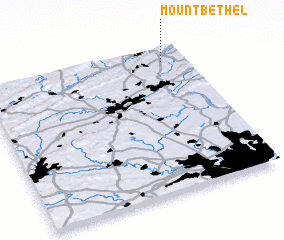 3d view of Mount Bethel