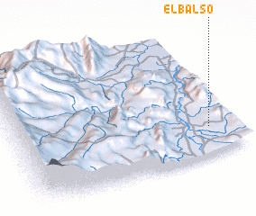 3d view of El Balso