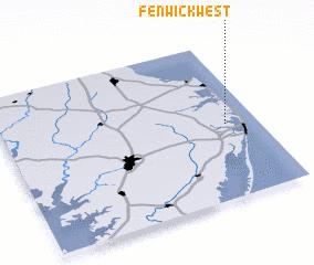 3d view of Fenwick West