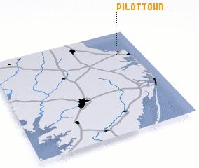 3d view of Pilottown