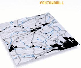 3d view of Foxtown Hill