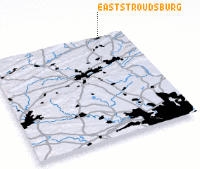 3d view of East Stroudsburg