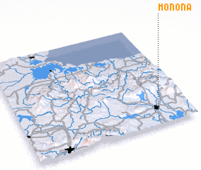 3d view of Monona