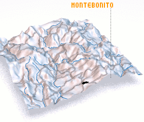 3d view of Montebonito