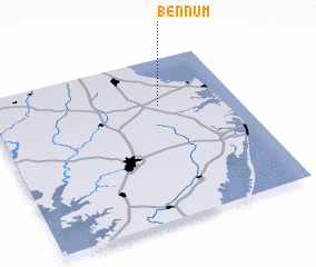 3d view of Bennum