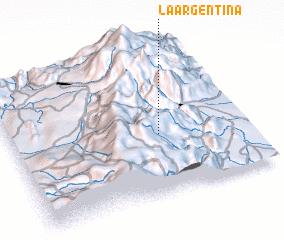 3d view of La Argentina