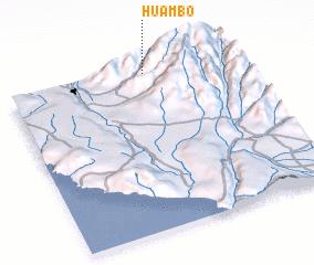 Huambo Peru map nonanet