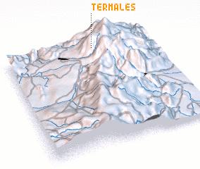 3d view of Termales