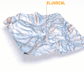 3d view of El Juncal