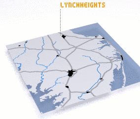 3d view of Lynch Heights