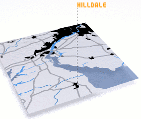 3d view of Hilldale