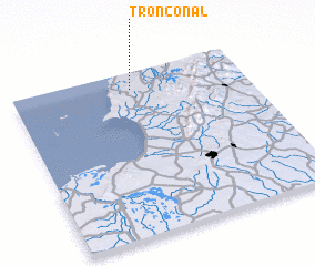 3d view of Tronconal