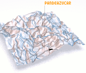 3d view of Pan de Azúcar