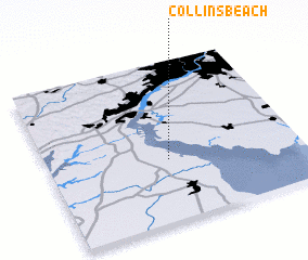 3d view of Collins Beach