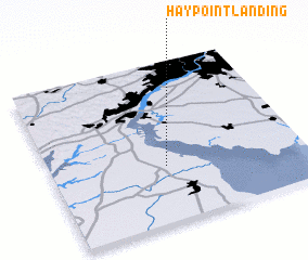 3d view of Hay Point Landing