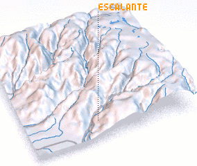 3d view of Escalante