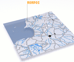 3d view of Mompós