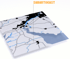 3d view of Sabarto East