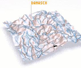 3d view of Damasco