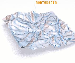 3d view of Norte de Atá
