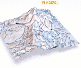 3d view of El Maizal