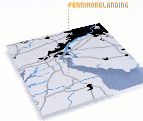 3d view of Fennimore Landing