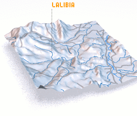 3d view of La Libia