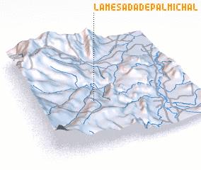 3d view of La Mesada de Palmichal