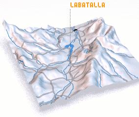 3d view of La Batalla