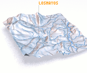 3d view of Los Mayos