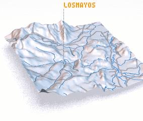 3d view of Los Mayos