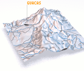 3d view of Guacas