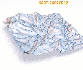 3d view of Santiago Pérez