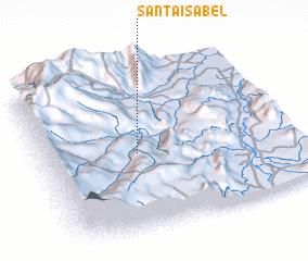 3d view of Santa Isabel