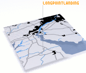 3d view of Long Point Landing