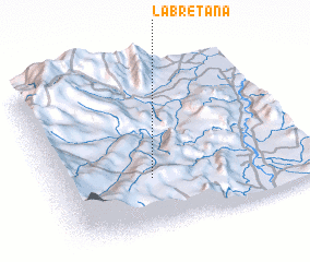 3d view of La Bretaña
