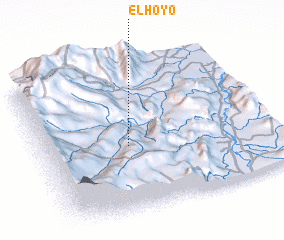 3d view of ElHoyo